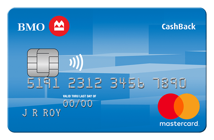 BMO No-Fee CashBack MasterCard
