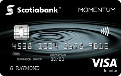 Scotiabank Momentum Credit Card Deal