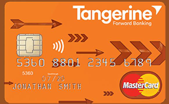 Tangerine card